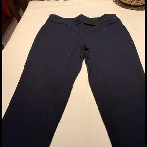 Talbots classic navy women's pants